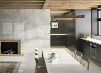 Dekton Kitchen - Fiord - Glacier - xgloss - שיש איכותי ועמיד במיוחד - שיש איציק